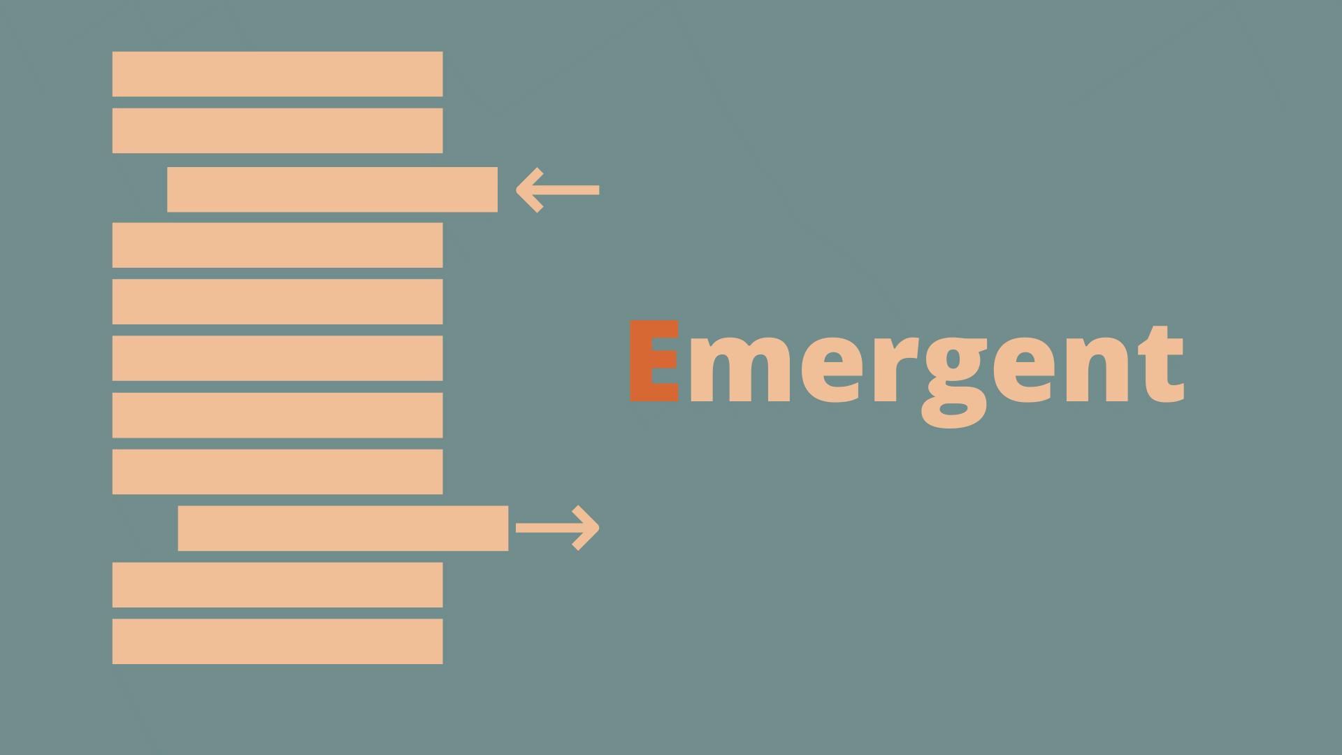 DEEP - Emergent - Product Backlog